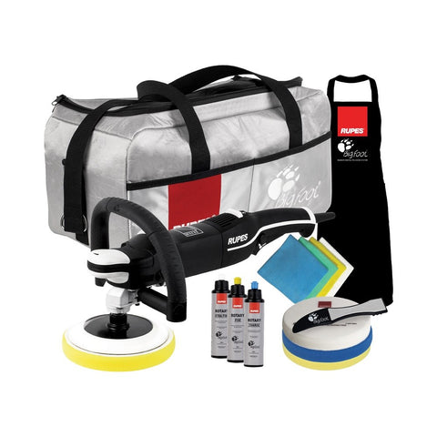Rupes BigFoot LH 19E Rotary Polisher DLX Kit