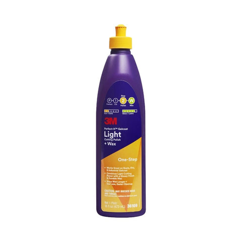 3M Perfect-It One-Step Gelcoat Light Cutting Polish + Wax