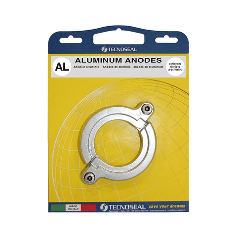 Tecnoseal KIT1305-1AL Yanmar Saildrive Split Ring Anode Kit - Aluminium