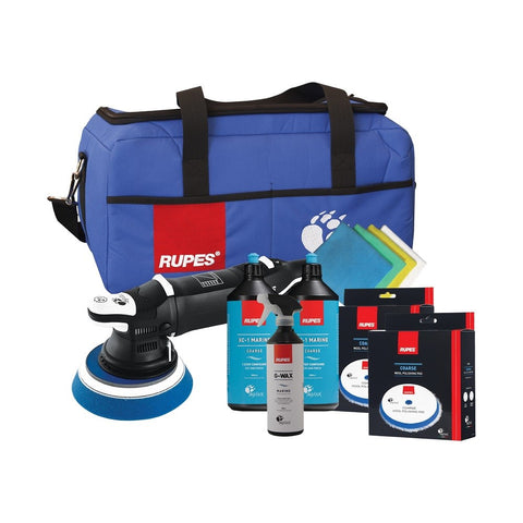 Rupes BigFoot LHR 21 Mark III Marine Premium Random Orbital Polisher Kit