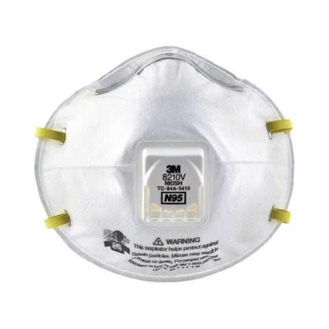 3M 8210V N95 Particulate Respirator with Vent Valve