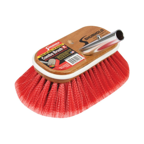 Shurhold Deck Brush Combo Soft & Medium