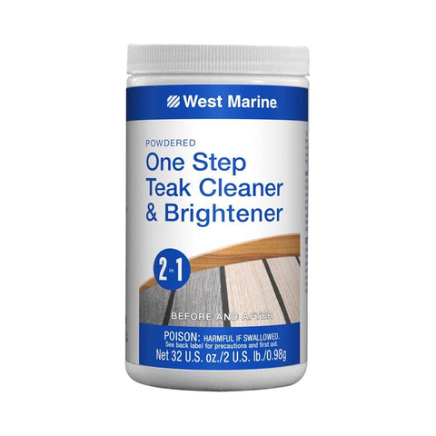 West Marine One Step Powder Teak Cleaner & Brightener