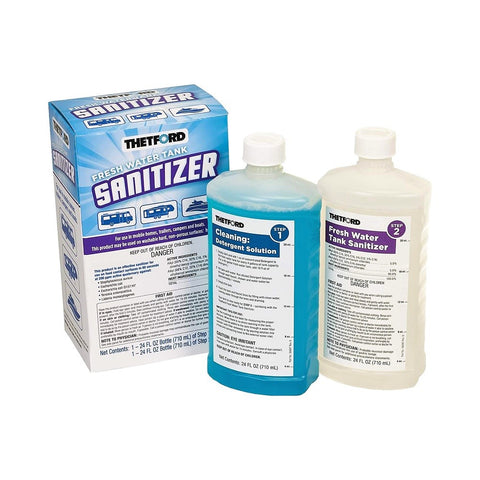 Thetford Fresh Water Tank Sanitizer / Holding Tanks Cleaner
