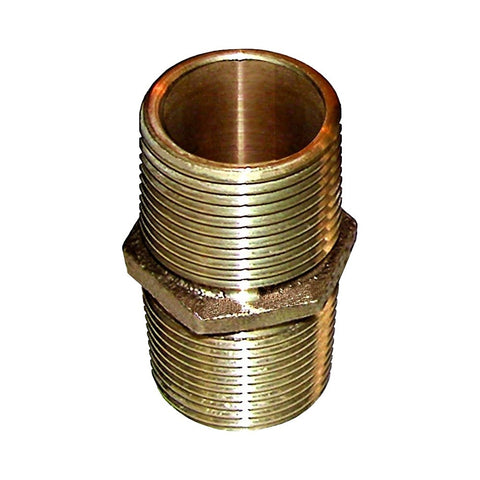 Groco PN Series Bronze Pipe Nipple Fittings - NPT