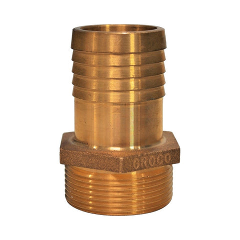 Groco PTH Series Bronze Pipe to Hose Standard Flow Fittings - BSPP