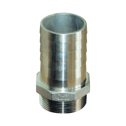 Groco PTH-S Series 316 Stainless Steel Pipe to Hose Standard Flow Fittings - NPT