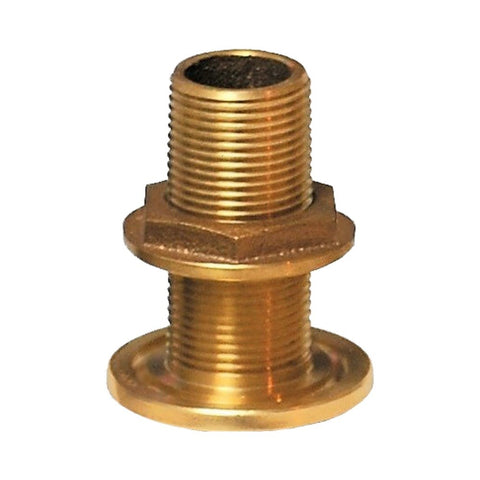 Groco TH Series Bronze Thru Hull Fittings with Nut - NPS