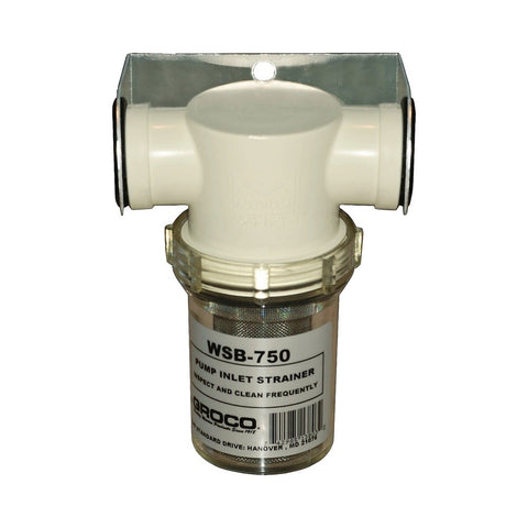 Groco WSB Series Pump Inlet Water Strainer - NPT
