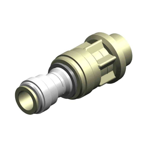 "Whale Quick Connect 15 mm - Threaded 3/4"" BSP Male Adaptor"