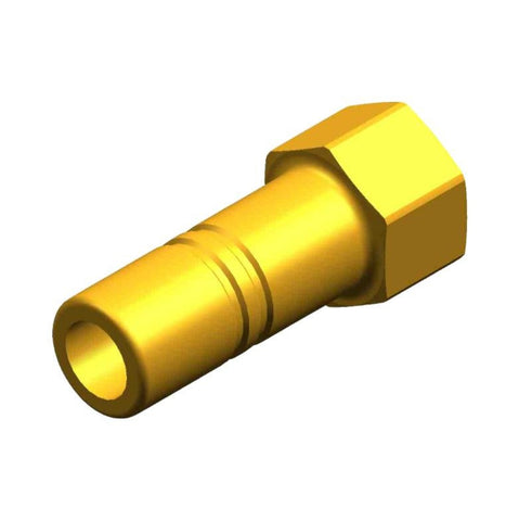 "Whale Quick Connect 15 mm Stem Adaptor - Threaded 3/8"" NPT Female Brass"