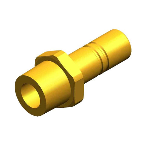 "Whale Quick Connect 15 mm Stem Adaptor - Threaded 1/2"" NPT Male Brass"
