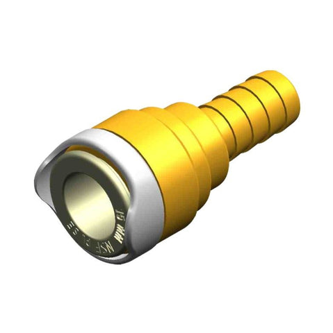 "Whale Quick Connect 15 mm - 1/2"" Hose Connector Male Brass"