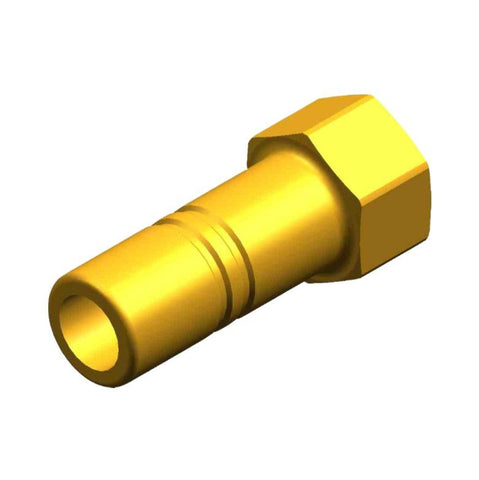 "Whale Quick Connect 15 mm Stem Adaptor - 1/4"" NPT Female Brass"