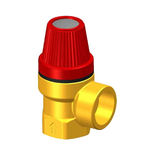 Whale Quick Connect Pressure Relief Valve - 6 bar