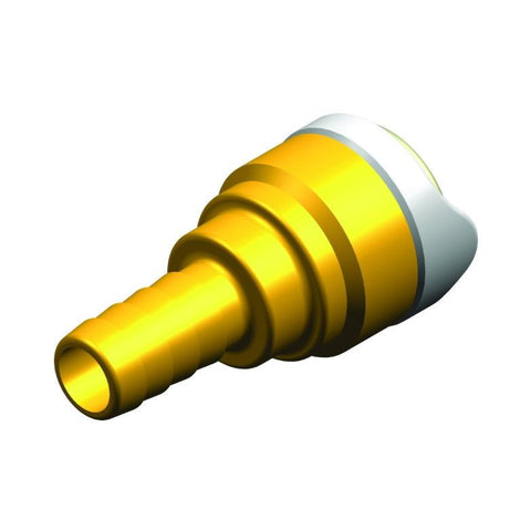 "Whale Quick Connect 15 mm - 3/8"" Hose Connector Brass"