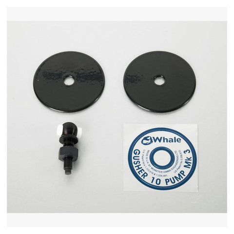 Whale Service Kit For Gusher 10 - Bushed Eyebolt & Clamping Plate Assembly