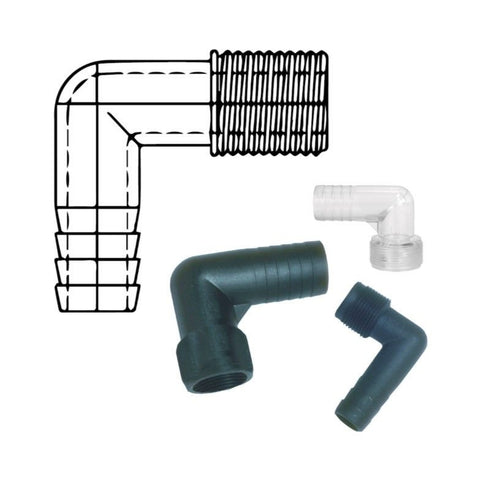 Forespar Elbows Tailpipes / Hose Connectors Male Threads