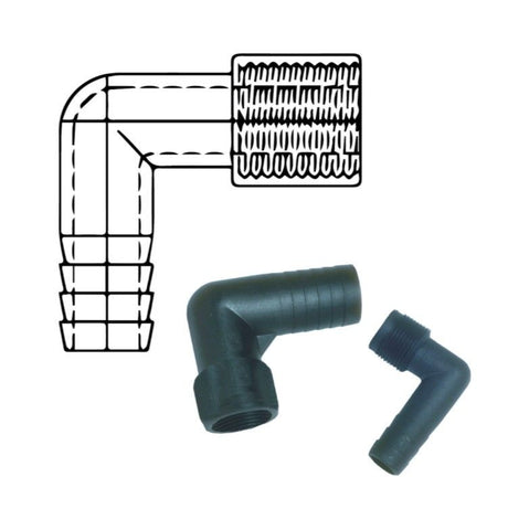 Forespar Elbows Tailpipes / Hose Connectors Female Threads