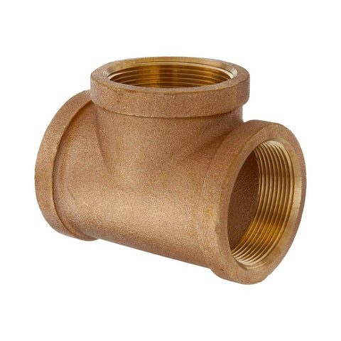 EMA Brass T Fitting Female - BSPP