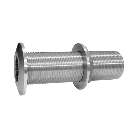 Groco THXL Series 316 Stainless Steel Extra Long Thru Hull Fittings with Nut - NPS