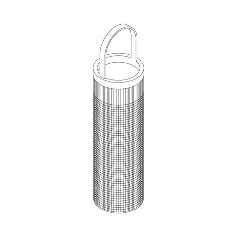 Groco ARG Series Replacement Strainer Basket - 304 Stainless Steel (Old Replacement Strainer Design)