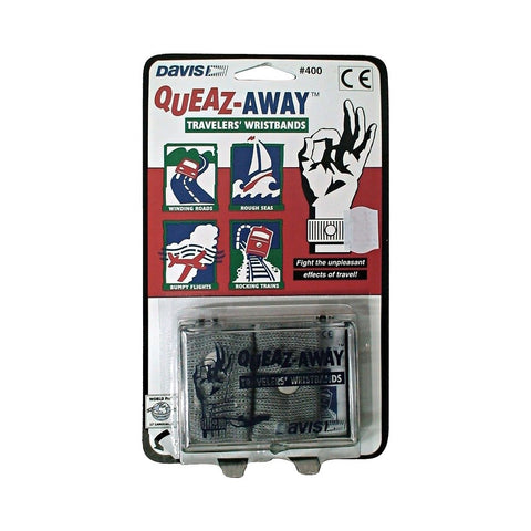 Davis Queaz-Away Travelers' Wristbands / Seasick Relief Bands