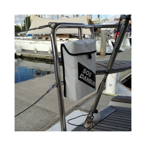 SOS Marine Dan Buoy Rail Mount Holder