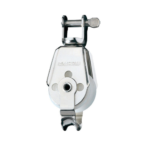 Ronstan Series 30 AP Single Utility Block - Becket, Swivel Shackle Head