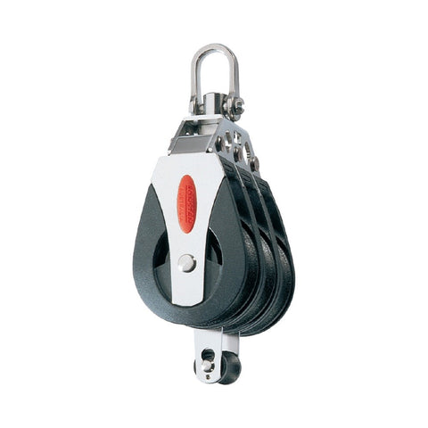 Ronstan Series 40 BB Triple Utility Block - Becket, Swivel Shackle Head (Non-locking)