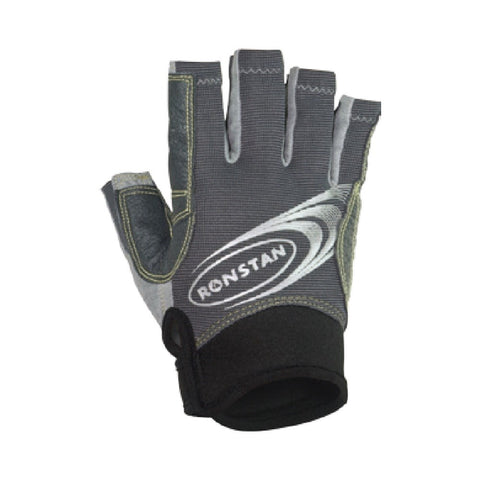 Ronstan Sticky Race Glove - Cut Finger (Grey)