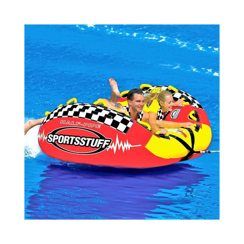 Sportsstuff Half Pipe Rampage Inflatable 2-Rider Towable