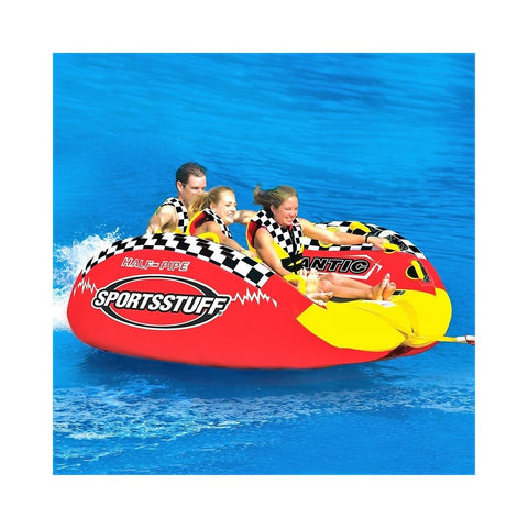 Sportsstuff Half Pipe Frantic Inflatable 3-Rider Towable
