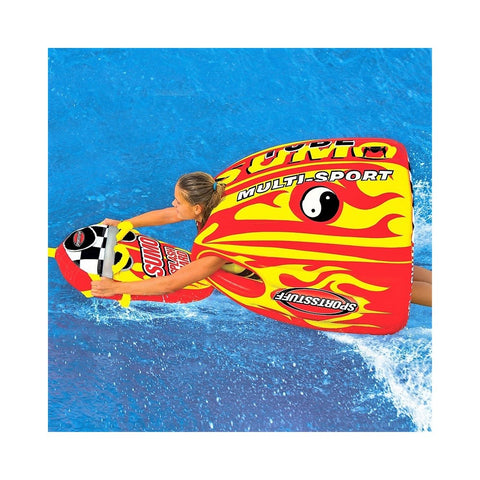 Sportsstuff Sumo & Splash Guard Combo Inflatable 1-Rider Towable