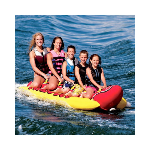 Airhead Jumbo Dog Inflatable 5-Rider Towable