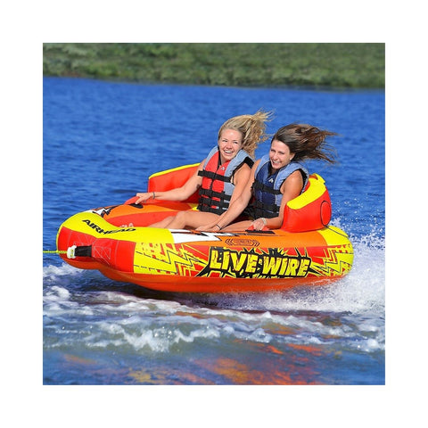 Airhead Live Wire 2 Inflatable 2-Rider Towable