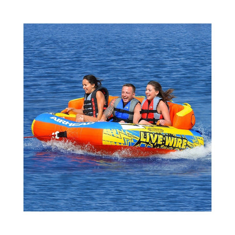 Airhead Live Wire 3 Inflatable 3-Rider Towable
