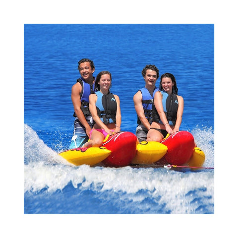 Airhead Quad Dog Inflatable 4-Rider Towable