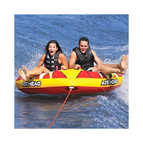 Airhead Turbo Blast 2 Inflatable 2-Rider Towable