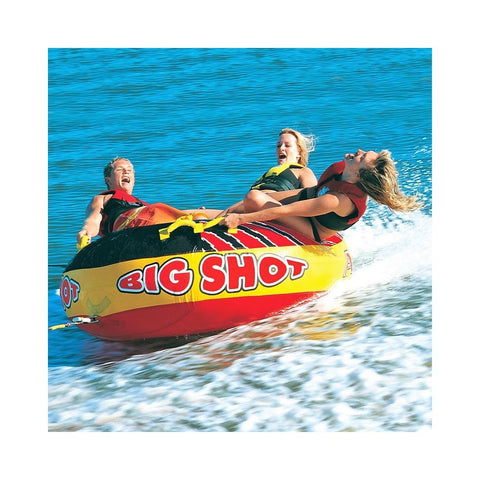 Airhead Big Shot Inflatable 4-Rider Towable