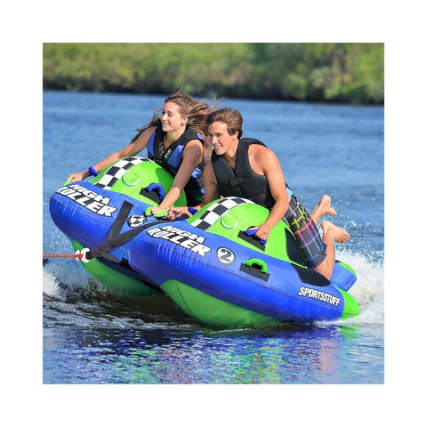 Sportsstuff High Roller 2 Inflatable 2-Rider Towable