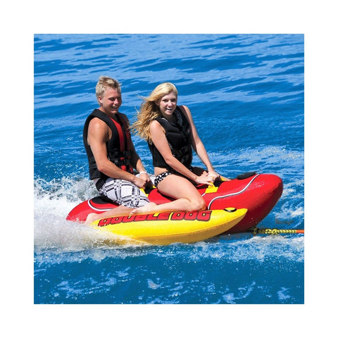 Airhead Double Dog Inflatable 2-Rider Towable