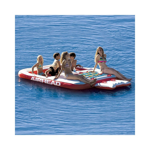 Airhead Cool Island Inflatable 6-Person Float