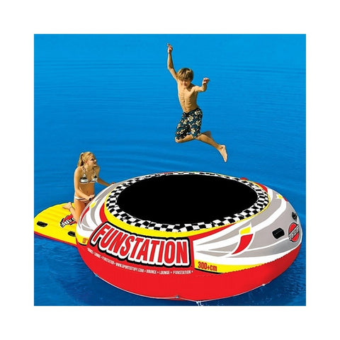 Sportsstuff Funstation Bouncer 10' Inflatable Trampoline