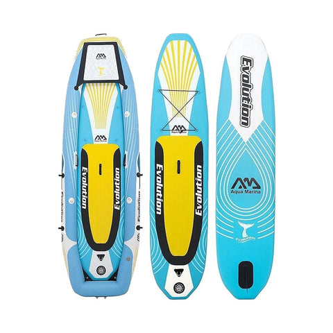 Aqua Marina Evolution 2-Person 2-in-1 Inflatable Kayak SUP