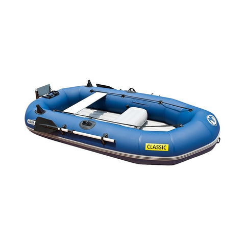 Aqua Marina Classic Inflatable Fishing Boat with Engine Mount
