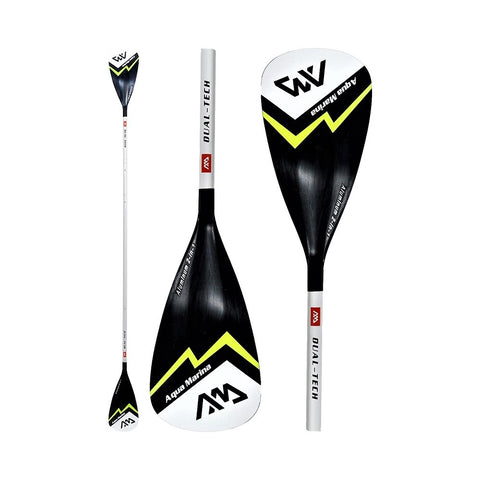 Aqua Marina Dual Tech 3-to-4-Section 2-in-1 Kayak SUP Paddle