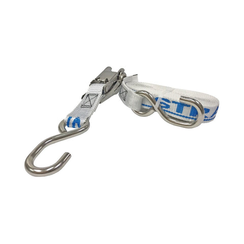 Just Straps Gunwale Stainless Steel Ratchet Tie-down