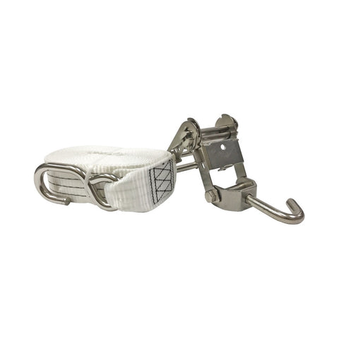 Just Straps Gunwale Medium Duty Stainless Steel Ratchet Tie-down