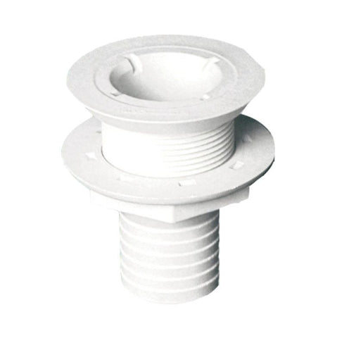 Forespar 254 Series Flush Head Drain Thru-Hull Connectors